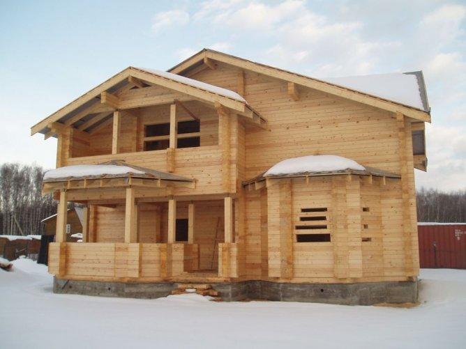 Готовые деревянные дома цена