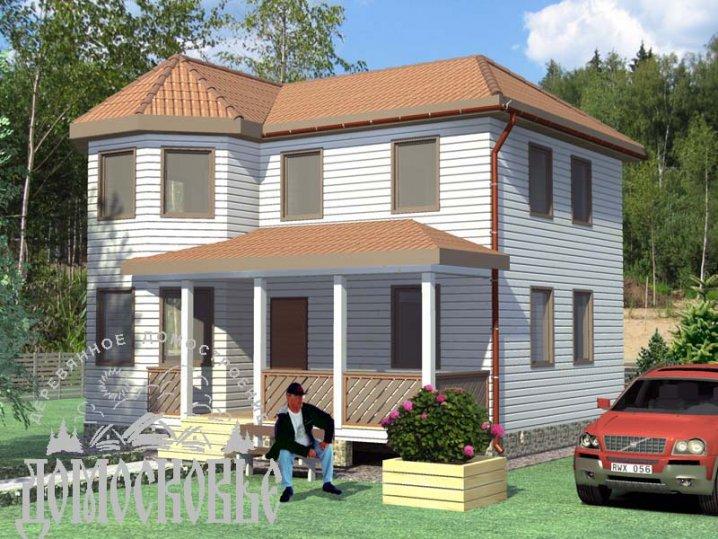 Будинок з профільованого бруса