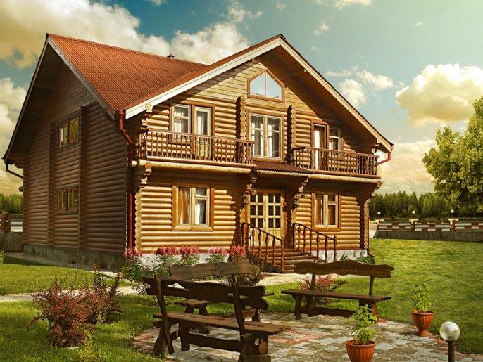 Проекты красивых домов из