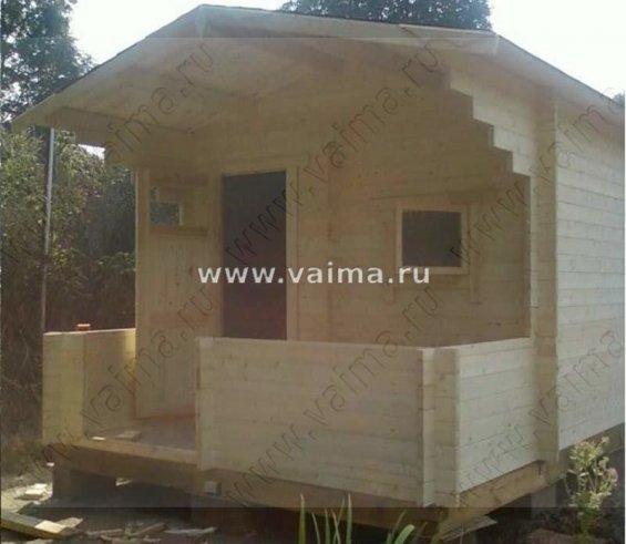Садовый одноэтажный деревянный