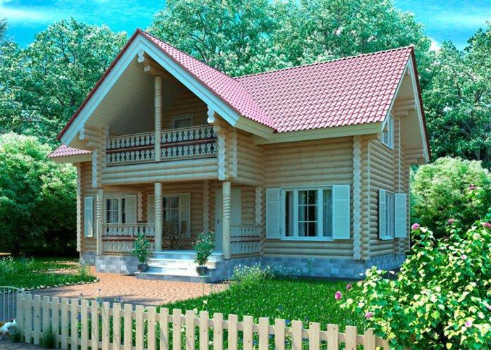 Проект дерев яного будинку