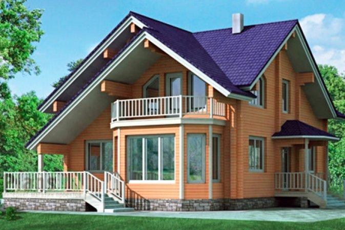 #1 Проекты деревянных домов