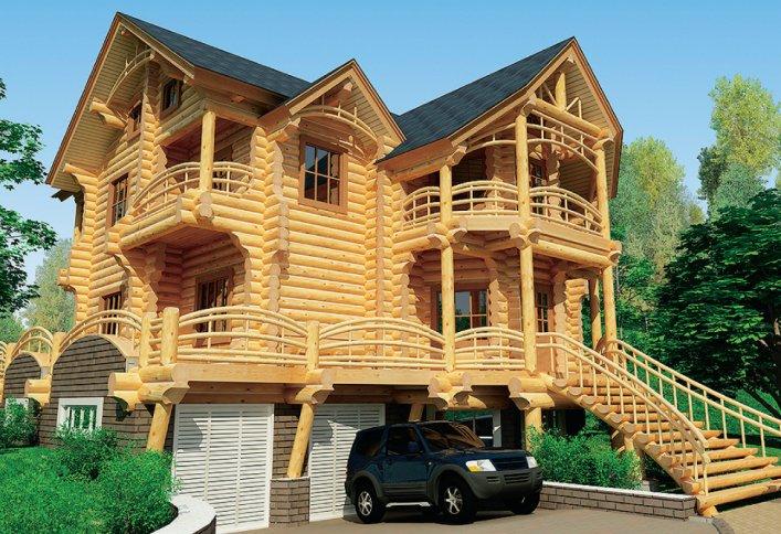 Проекти сучасних дерев яних