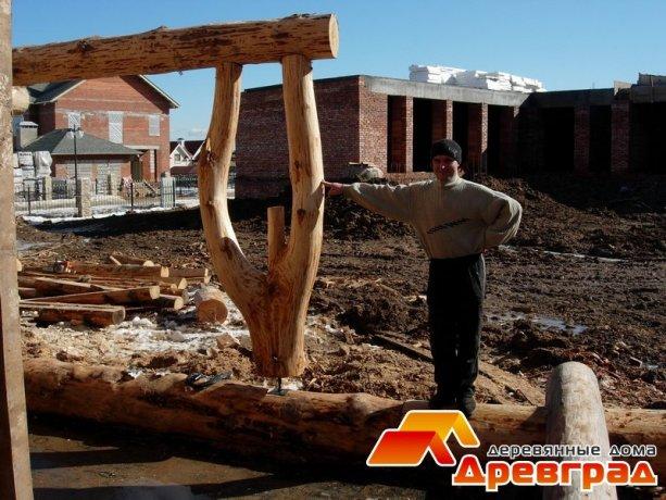 строительство деревянных